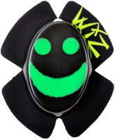 WIZ SPARKY Knieschleifer - Smily viz green/black